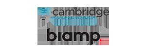 Biamp and Cambridge logo