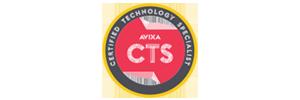 Avixa CTS-D AV Certification logo