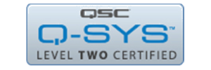 QSYS level 2 Certification logo