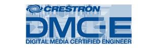 Crestron Digital Media Certified Enigneer logo