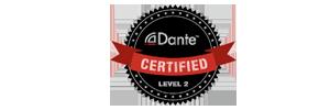 Dante Certified logo
