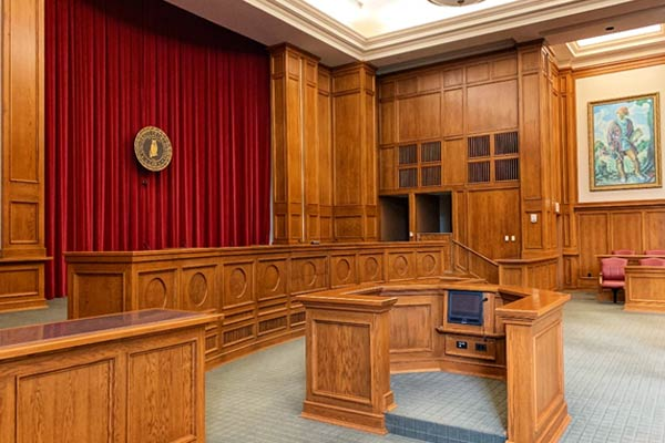 Courtroom recording