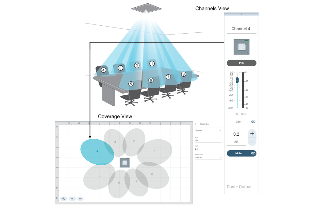 Shure Designer software screenshot