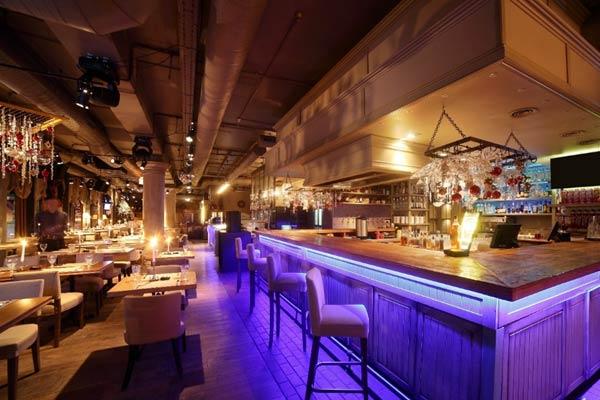 Restaurant and Bar AV design