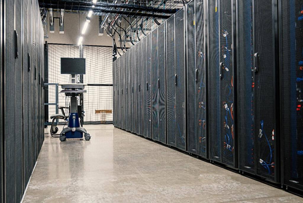 Network Server Rack room