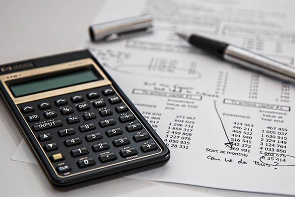 Calculator and budgets