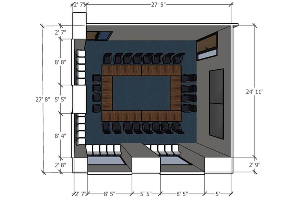 Boardroom Sketchup Model